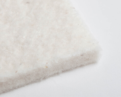 Organic cotton fleece from controlled organic cultivation